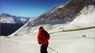 Klosters Switzerland  City new picture : Davos Klosters Skiing, Switzerland.