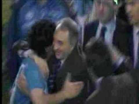 Maradona en el Napoli