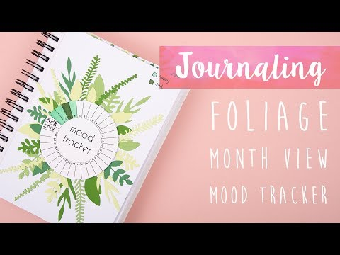 Create Your Own Monthly Mood Tracker Journal - Sizzix