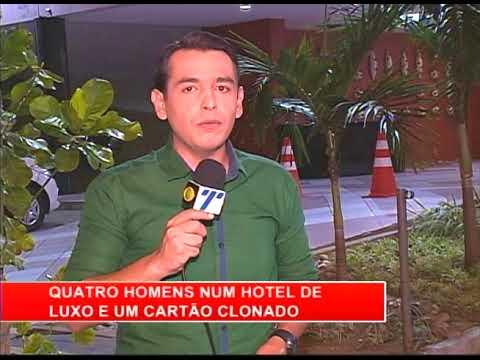 [RONDA GERAL] Homens são presos em hotel de luxo com cartão clonado