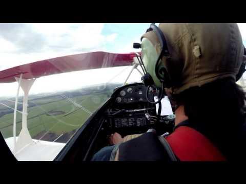 Campeonato de Acrobacia Aérea - Christen Eagle II - Camilo Freitas