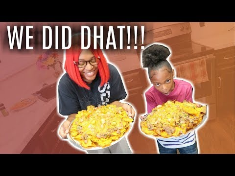 COOKING WITH RAH !!!! | FULLY LOADED NACHOS !!!!
