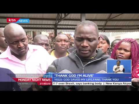 24/10/2016: Julius Yego discharged from hospital after an accident, 24/10/2016