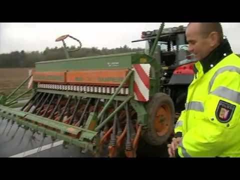 Traktoren Gefahr auf der Straße? / DE