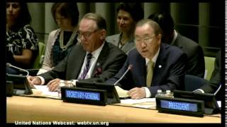 Secretary General Ban Ki-Moon Accuses Israel Of 'war Crimes' In Gaza