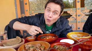 Folk Heritage Museum Restaurant serves some of the best Bhutanese food you'll ever eat. ▻Subscribe for more videos: http://bit.ly/MarkWiensSubscribe If ...
