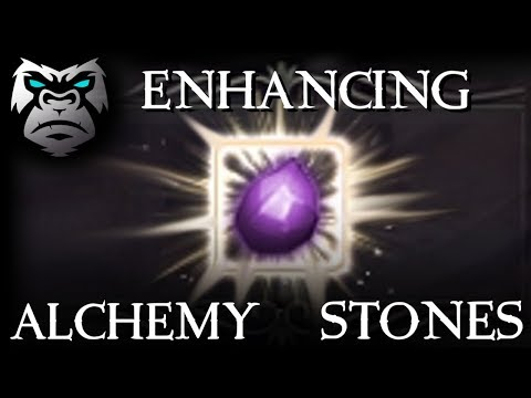 ENHANCING MY ALCHEMY STONE TO SHARP | Black Desert Online Gameplay / BDO |