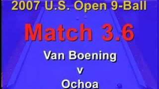 BCn: 2007 US Open 9-Ball Match 3.6: Van Boening Vs. Ochoa