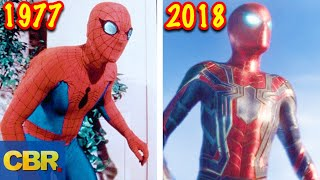Video The Evolution Of Spider-Man's Suits MP3, 3GP, MP4, WEBM, AVI, FLV Desember 2018
