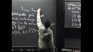 Lecture 11: The Poisson Distribution | Statistics 110
