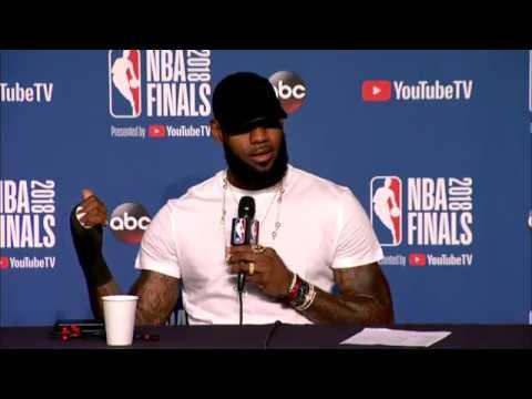 LeBron James Postgame Interview | NBA Finals Game 4