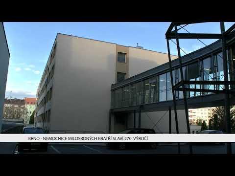 TV Brno 1: 15.11.2017 Nemocnice Milosrdných bratří slaví 270 výročí