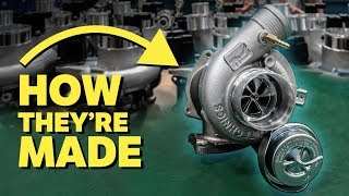 How Hybrid Turbos Are Made & What They Do! by Car Throttle