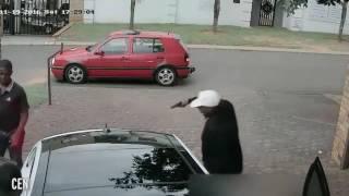سطو مسلح على عائلة وسرقتها في وضح النهار