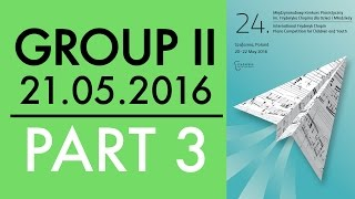 Download Lagu The 24. International Fryderyk Chopin Piano Competition for Children - Group 2 part 3 - 21.05.2016 Mp3