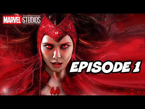 Wandavision Episode 1 Scene 2021 and Marvel X-Men Trailer Easter Eggs