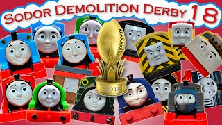 Video Sodor Demolition Derby 18 | Thomas and Friends Trackmaster | Strongest Engine MP3, 3GP, MP4, WEBM, AVI, FLV Januari 2019