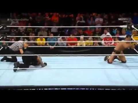 Roman Reigns vs Alberto Del Rio  WWE RAW 04 25 16  25 04 16  25th April 2016