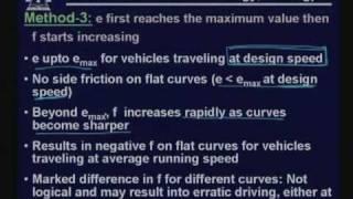 Lecture - 15 Horizontal Alignment - II