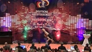 Chantal Roos & Pascal Roos - Deutsche Meisterschaft 2014