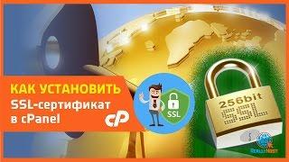 На примере бесплатного сертификата от StartSSL мы сгенерируем ключ и установим сертификат в cPanel.Хоть мы и предоставляем на нашем хостинге http://pwhost.ru?from=youtube бесплатный сертификат ssl от Let's Encrypt автоматически, возможно кому-то захочется установить какой-то другой сертификат это можно сделать по аналогии. Для этого и сделано это видео.Более подробно с картинками почитать можно тут: https://host-support.ru/knowledgebase.php?article=3300:00 Знакомство с сайтом startssl.com01:10 Добавление и подтверждение домена02:15 Создание запроса на подпись сертификата02:44 Генерирование CSR записи  и ключа в cPanel, и создание сертификата04:25 Скачиваем и распаковываем файлы сертификата04:55 Закачиваем файл сертификата для  SSL-шифрования в cPanel06:05 Устанавливает сертификат в cPanel07:08 Проверка работы.Редирект на SSL через .htaccess-------------------------------------------------------------------RewriteEngine OnRewriteCond %{SERVER_PORT} !^443$RewriteRule .* https://%{SERVER_NAME}%{REQUEST_URI} [R,L]-------------------------------------------------------------------Доступные цены на домены RU и РФ за 99 руб. http://pwhost.ru/domens.html?from=youtube#tariffБесплатный хостинг при заказе домена http://pwhost.ru/hosting.html?from=youtube#tariffПриглашаем вас в нашу группу ВКонтакте https://vk.com/reallyhostИ в наш блог http://reallyhost.ru/-----------------------------------------------------
