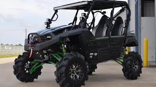 2. 2015 Kawasaki Teryx4 with 8 Inch Lift and 32 Inch Tires  Monster Build by Mainland Cycle Center