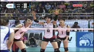 Thailand - Japan Full Match Final AVC Championships 21-09-2013