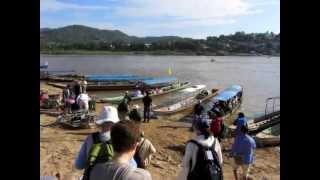 Houayxay Laos  city photo : Chiang Khong, Thailand to Ban Houayxay, Laos