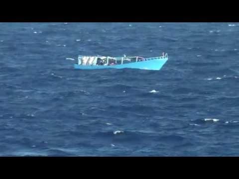 Visa film Sjöräddning KBV 001 Poseidon i Medelhavet
