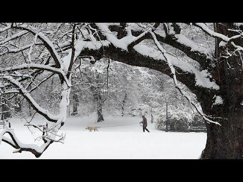 Sibirische Kälte erreicht Deutschland und seine Nac ...