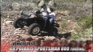 10. ATV Television Test - 2008 Polaris Touring 800