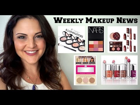 What's Up In Makeup - Makeup NEWS - Week of August 30, 2015 * Jen Luv's Reviews *
