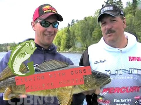 Fishing With Gussy: Walleye With Pro Alex Keszler