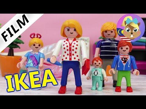 Filem Playmobil | Keluarga Vogel kat IKEA | Emma hilang? Perabot baru untuk villa mewah
