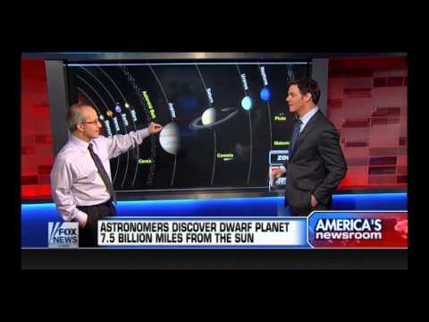 New Planet, Shifts Astronomers Paradigm of The Solar System - Fox New's (видео)