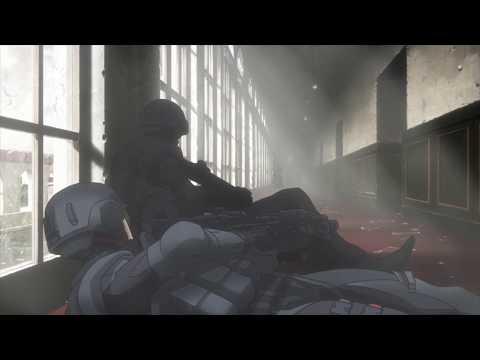 Taking out a sniper [Genocidal Organ / Gyakusatsu Kikan / 虐殺器官 Eng Dub] (видео)