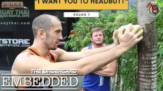 A parody of the UFC Embedded series.
