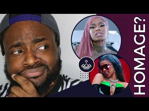 Nicki Minaj Wants Homage?