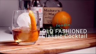 LOW FODMAP OLD FASHIONED COCKTAIL