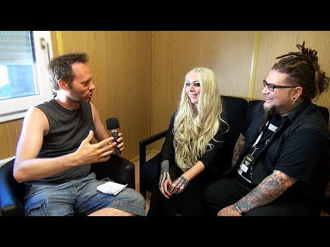 In This Moment Interview - Sweden Rock Festival 2018 - Maria Brink & Chris Howorth