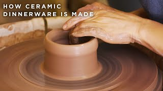 How Ceramic Dinnerware Is Made • Tasty by Tasty