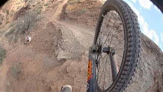 Riding A Bike Down The Face Of A Mountain - Absolutely Insane!