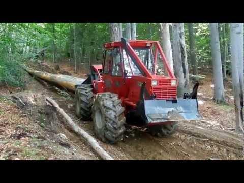 Tractor forestier articulat tip skidder Noe NF140 - video 2