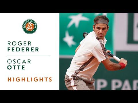 Roger Federer vs Oscar Otte - Round 2 Highlights | Roland-Garros - Thời lượng: 1:40.