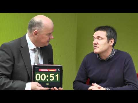 Cyril Kelly, Soupstone Productions, takes the 60 second challenge with Omagh Enterprise.