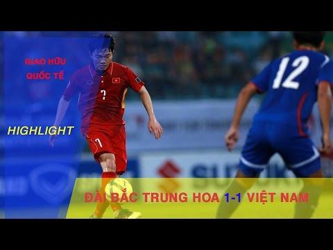 HIGHLIGHT | ĐT VIỆT NAM CHIA ĐIỂM VỚI ĐT ĐÀI BẮC TRUNG HOA TRƯỚC THỀM VÒNG LOẠI ASIAN CUP 2019