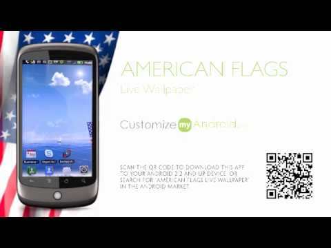 Video of American Flags LWP Free