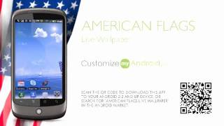 American Flags LWP Free YouTube video