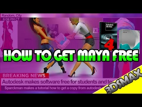 HOW TO DOWNLOAD MAYA OR 3DSMAX FOR FREE