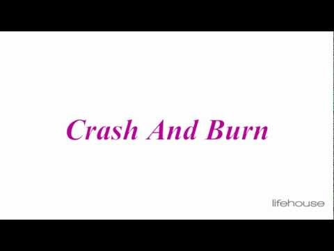 Tekst piosenki Lifehouse - Crash and Burn po polsku